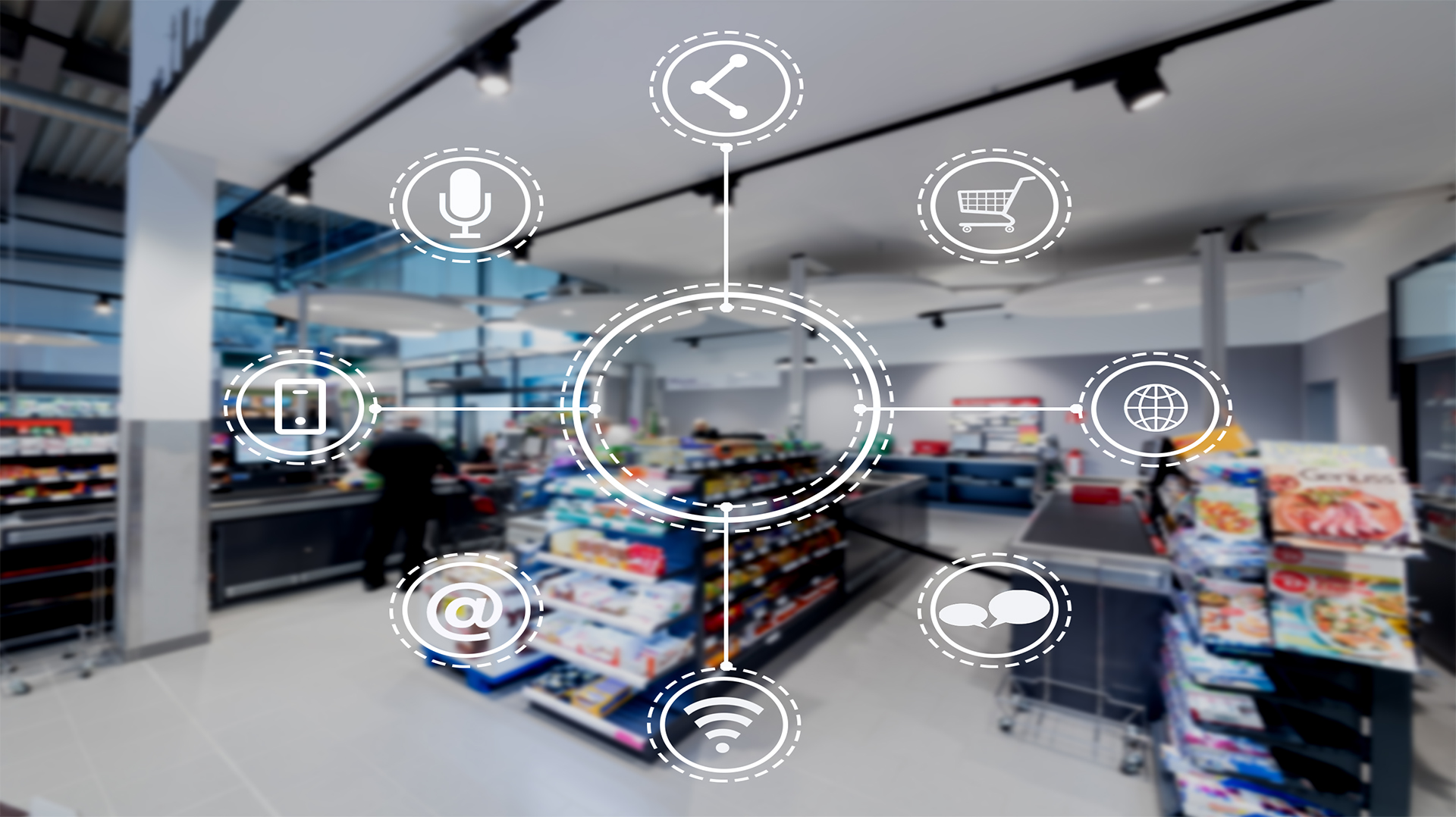 Digitalisation in the food trade