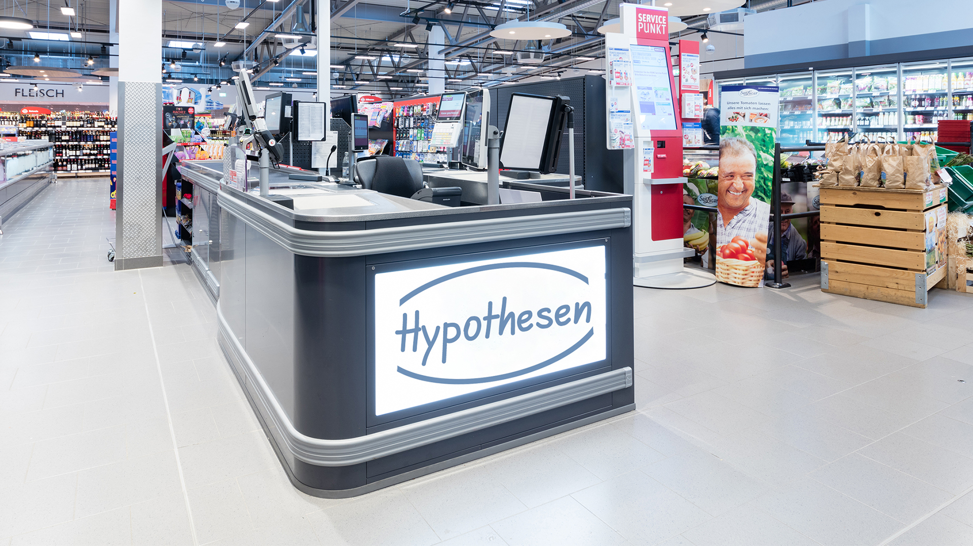 Hypotheses on trends in the checkout area up to 2025: